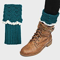 Scale Crochet Leg Warmer / Boot Topper