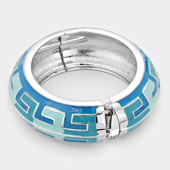Hinged epoxy bangle bracelet Hgd stock price
