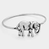 Metal Elephant Hook Bracelet