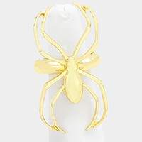 Metal spider stretch ring