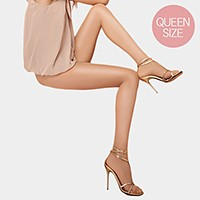 Queen size _ 20 Denier shine sheer control top leg slimming tights