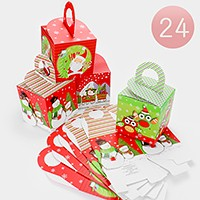 24 PCS - Christmas Holiday gift boxes