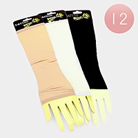 12 Pairs - Solid tattoo gloves
