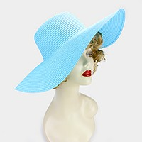 Basic paper straw floppy sun hat