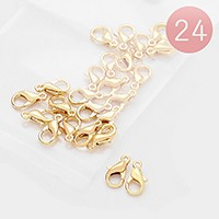 24 PCS - 10 mm Lobster Claw Clasps