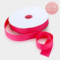 100 Yard solid grosgrain ribbon