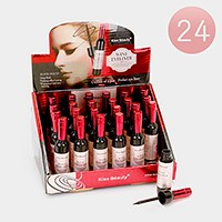 24 PCS - Wine bottle shaped waterproof eyeliners