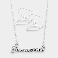 Tennessee pendant necklace