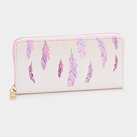 Feather _ zip around wallet