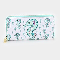 Seahorse _ zip around wallet
