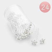 24 PCS - Mini pearl hair combs