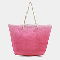 Ombre beach bag