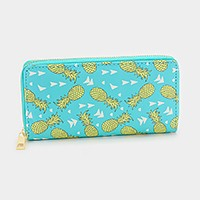 Pineapple _ Zip around wallet