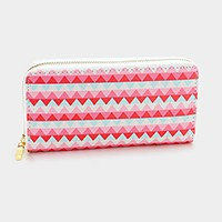 Chevron _ Zip around wallet