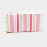 Stripe _ Zip around wallet