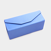 Foldable solid eyewear case