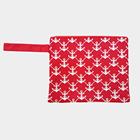 Anchor Wet Bikini Beach Clutch Bag