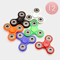 12 PCS - Regular hand spinner fidget toys