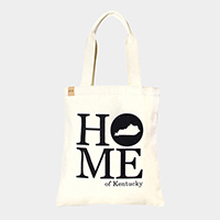 Home of Kentucky _ Cotton canvas eco shopper bag