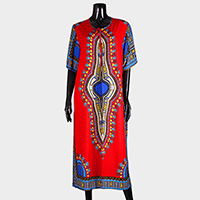 Ethnic Patterned top cover up