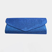 Glittered Shoulder Clutch Evening Bag