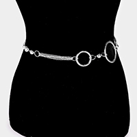 CCB Ball & Linked Round Shape Casting Chain Belt