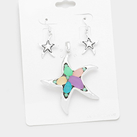 Starfish Magnetic Pendant Set