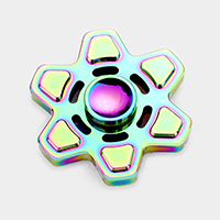 Hexagon Aluminum Hand Spinner Fidget Toy