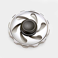 Aluminum Wheel Spinner Fidget Toy
