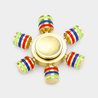 Metal Casting 6 Legs Detachable Fidget Spinner