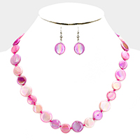 Multi Toned Colorful Shell Necklace