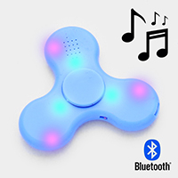LED Lighting & Speaker Spinner Fidget Toys
