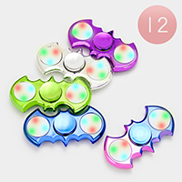 LED Lighting Rainbow Batman Casting Spinner Fidget Toys