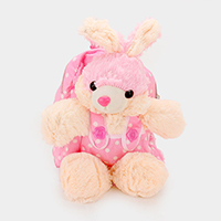 Polka Dot Bunny Doll Backpack