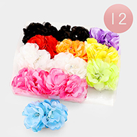 Oversized Flower Hair Barrette Clips