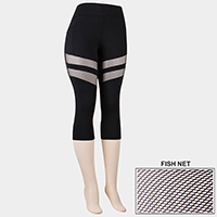 Comfy Fishnet Insert Leggings