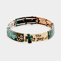 The joy of the lord is my strength message Bracelet