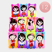 Character Silicone Cell Phone Case