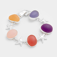 Starfish Dome Magnetic Bracelet