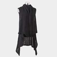 Contemporary Soft Knit Vest