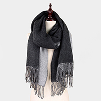 Double Side Brushed Shawl Scarf