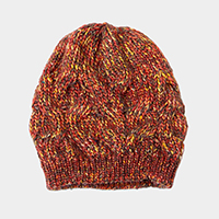 Multi Color Knit Beanie