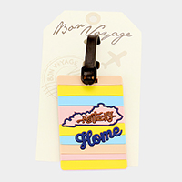 Kentucky Home Bon Voyage Rubber Luggage Tag