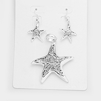 Filigree Starfish Pendant Set