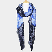 Patterned Long Scarf