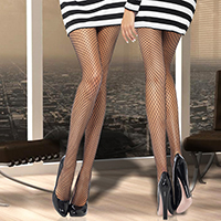 Classic Fence Net Pantyhose Tights