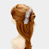 Crystal Rhinestone Bubble Cluster Hair Comb