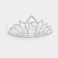 Crystal Rhinestone 15 Princess Mini Tiara