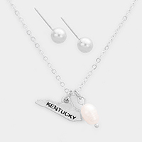 Kentucky Fresh Water Pearl Pendant Necklace
