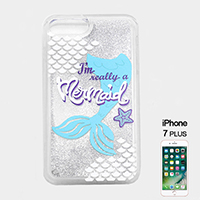 Liquid Glitter Mermaid iPhone7Plus Phone Case